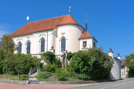 pilgrimage: Pilgrimage church St. Anna in Haigerloch, Germany