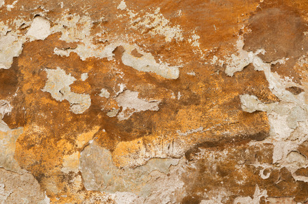 crumbling: Old wall with crumbling plaster Stock Photo