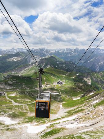 allgau: Nebelhorn Cable Car in the Allgau Alps