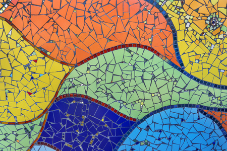 mosaic: colorful mosaic Stock Photo