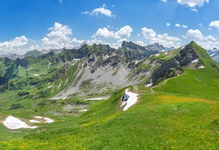 allgau: Beginning of summer in the Allgau Alps