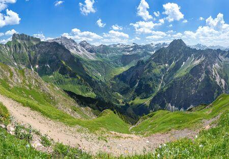 allgau: Allgau Alps with Hoefats and Schneck