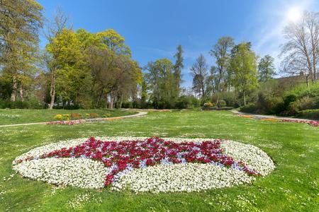 idyllic: Idyllic park in spring