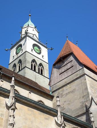 nikolaus: Minster St. Nikolaus in Ueberlingen Stock Photo