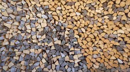 gray pattern: Firewood with brown gray pattern