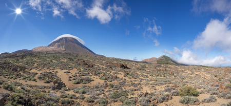 Teide in the national park of Tenerife