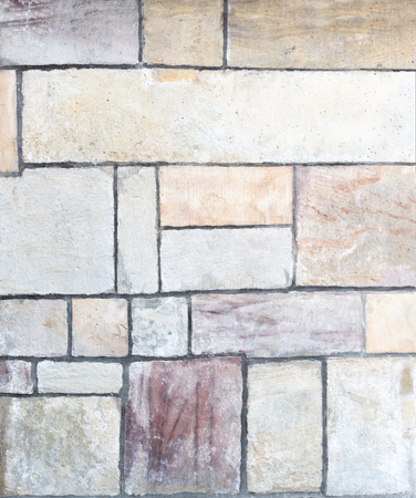 Detail of a wall