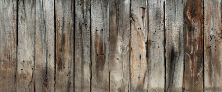 Wooden wall from old planks