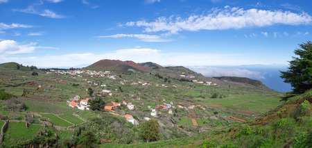 San Andres with mountain Chamuscada on the island of El Hierro