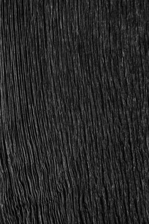 Texture in old black wood