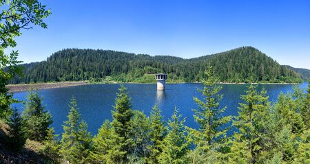 Tower in Kleine Kinzig Dam in the Black Forest, Germany