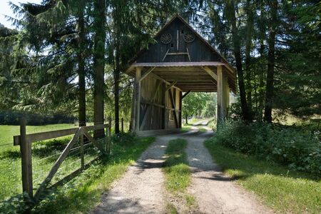 Barbara Bridge at the Schlichemklamm in the Black Forest, Germany