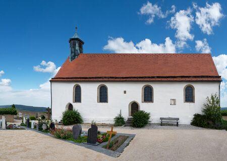 Chapel Wurmlinger Kapelle, near Tuebingen, Germany - Panorama