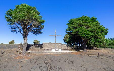 El Hierro - Cruz de Los Reyes Stockfoto