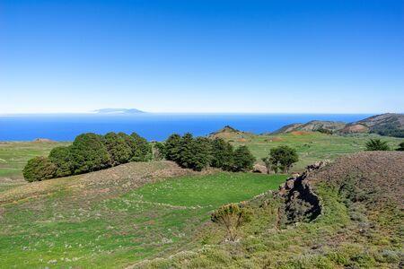 El Hierro - Landscape in the central highland Meseta de Nisdafe