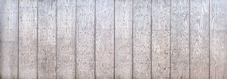 Wooden wall made of composed boards