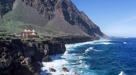 El Hierro - View over the coastline in Pozo de la Salud