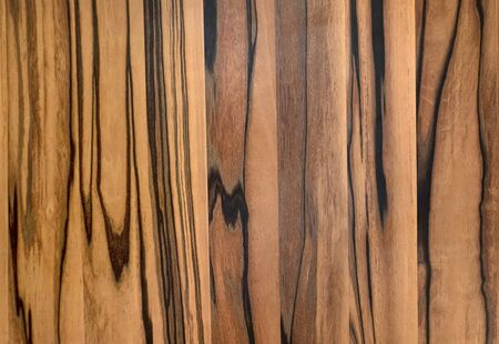 Pattern of an elegant indoor wooden wall