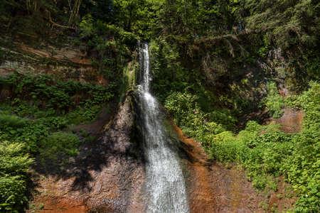 Sankenbach Waterfall near Baiersbronn in the Black Forest, Germany