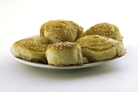 Sesame pie photo
