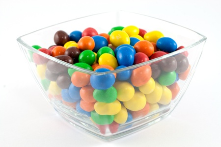 Bonbons in a bowl photo