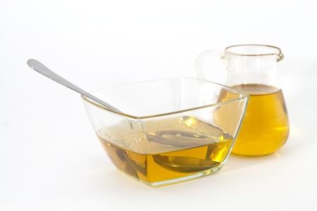 aceite de cocina: Aceite de oliva de oro saludable