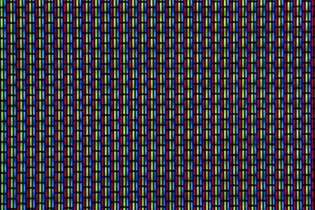 cathode ray tube: Background, Close-up of CRT Screen Stock Photo