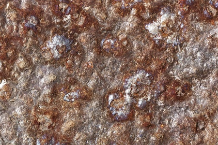 bumpy: Background, Rusting Piece of Flat Metal