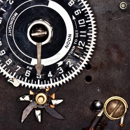 Analogue Clock Timer Set to Five O Clock photo