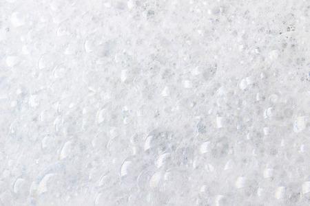 Seife Schaum und Blasen Hintergrund Standard-Bild