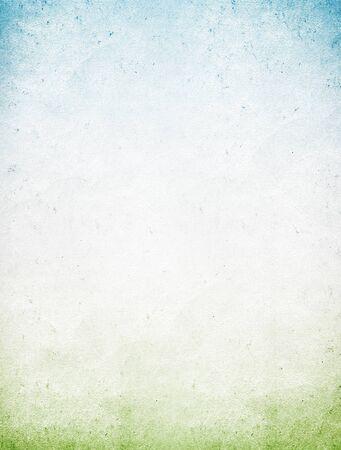 wrinkled paper: Vintage blue green paper background