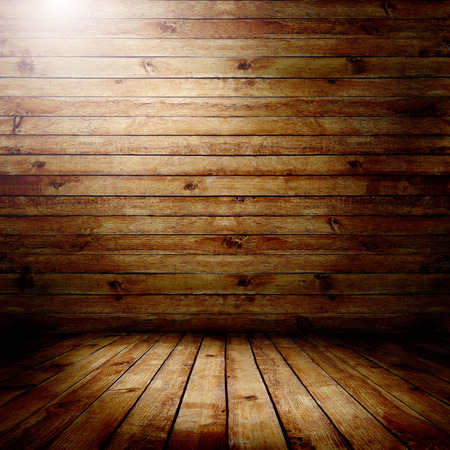 timber floor: Room. The brown wood texture with natural patterns background Stock Photo