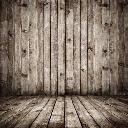 wood plank: Room. The brown wood texture with natural patterns background Stock Photo