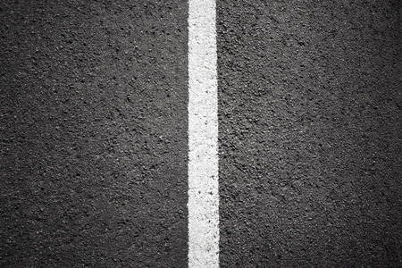 asphalt paving: Asphalt texture background with white line Stock Photo