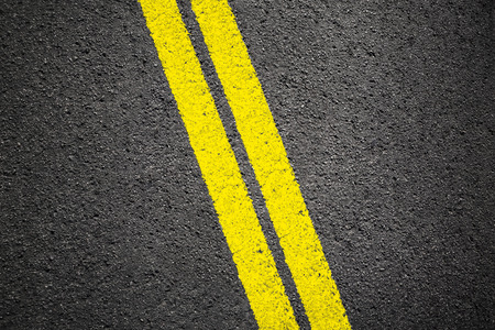 Asphalt texture background with white line Stock Photo