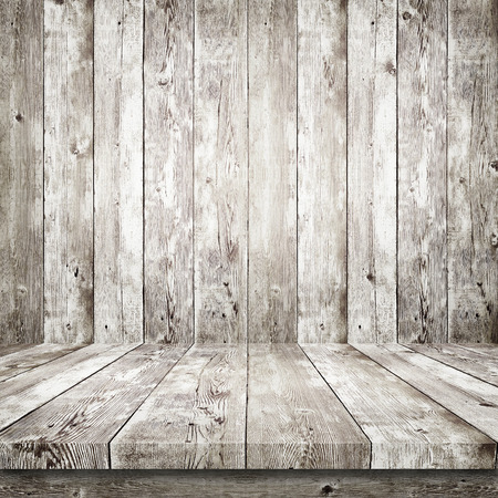 brown white: Wooden shelf over wood background