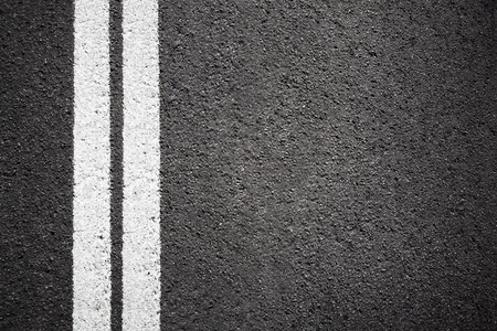 paving: Asphalt texture background with white line Stock Photo