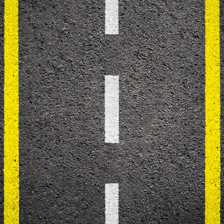 Asphalt texture background with white line Zdjęcie Seryjne