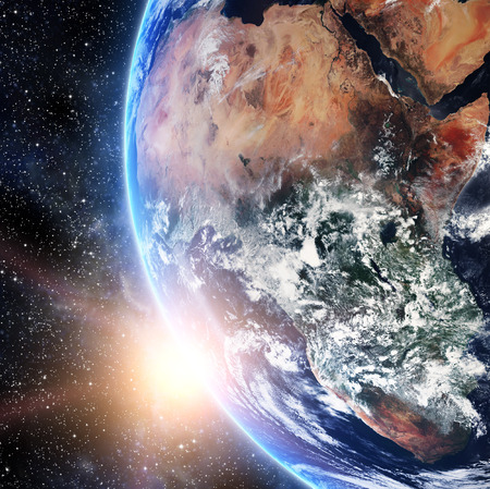 Earth. View from space.
