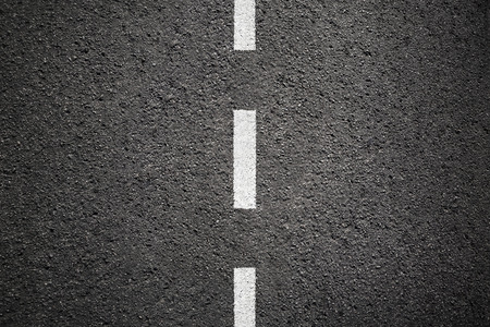 road paving: Asphalt texture background with white line Stock Photo