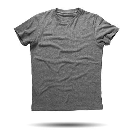 shirt: Grey shirt isolated on white background