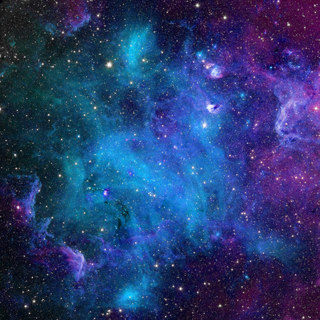 Galaxy stars. Abstract space background.