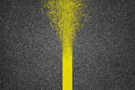 asphalt texture: Asphalt texture background with disappear line