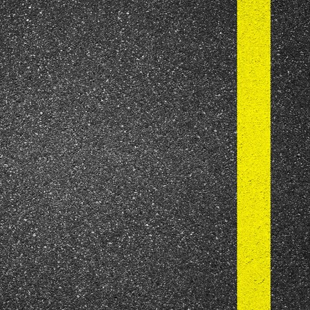 asphalt texture: Asphalt texture background with yellow line