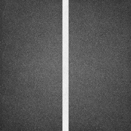 asphalt texture: Asphalt texture background with white line Stock Photo