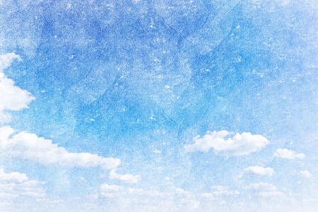 grunge image: grunge image of a sky with sun and clouds background