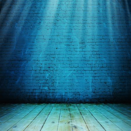 Vintage sott'acqua interno. Illustrazione sfondo astratto Archivio Fotografico - 80247159