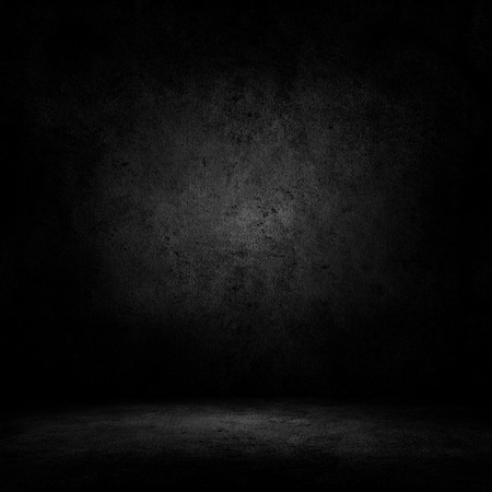 Dark room with concrete floor and wall background Stock fotó - 89672446