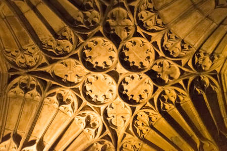ceiling: cathedral ceiling Stock Photo
