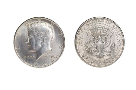 Half dollar obverse and reverse